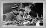 Mustafa Kemal, Rus Mareşali Voroşilov ile Ankara Hipodromu'nda (1933)