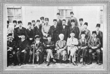 Mustafa Kemal, Sivas Kongresi üyeleri ile birlikte (1919)