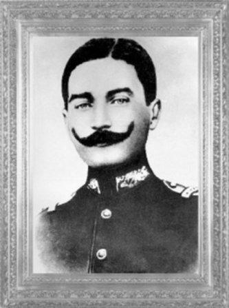 Mustafa Kemal, Şam'da, 5 nci Ordu 30 ncu Süvari Alayı'nda görevliyken (1907)